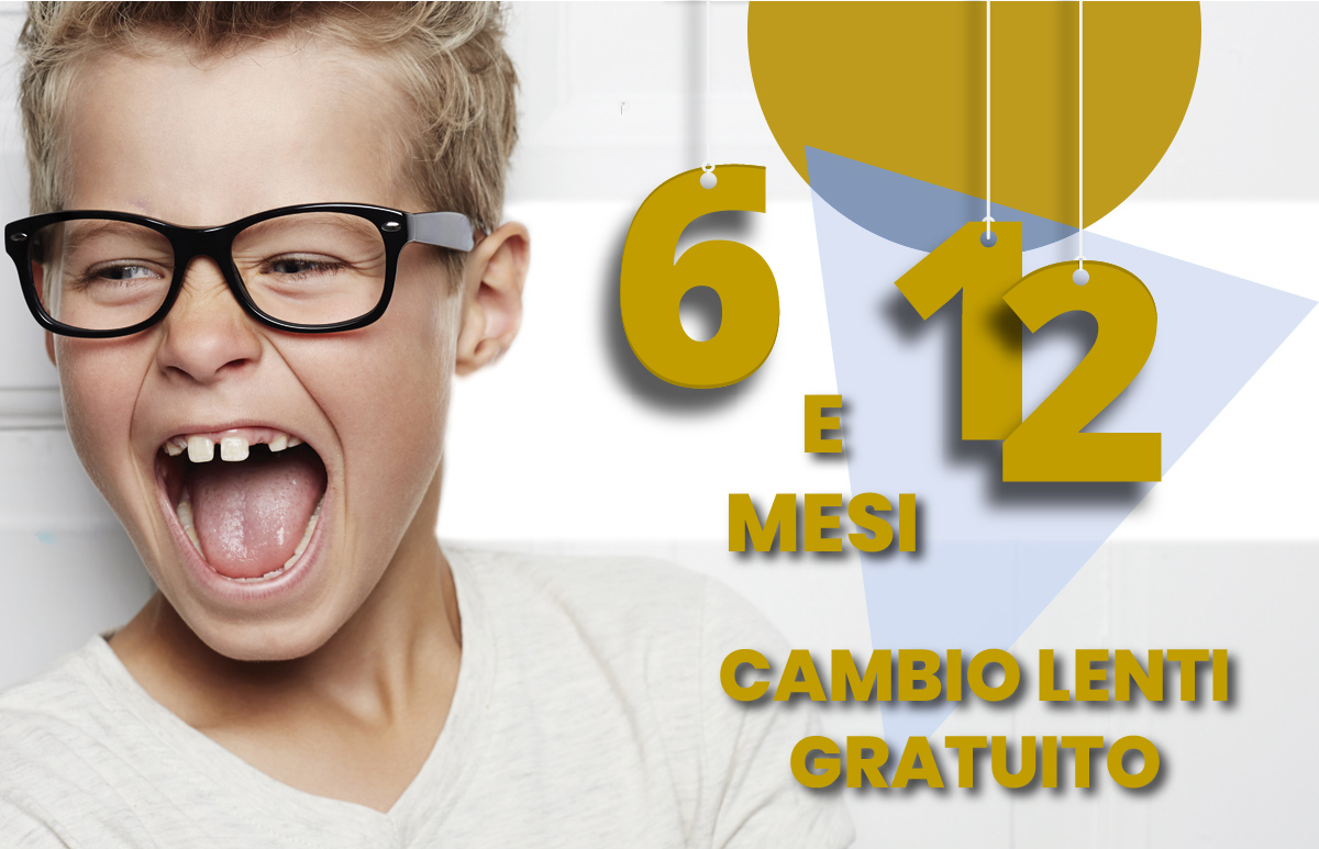 Occhiale Lenti+Montature Bambini a 69€