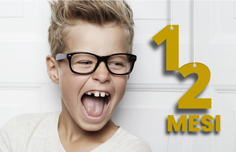 Bambini Sostituzione Lenti Gratuita 6-12 mesi