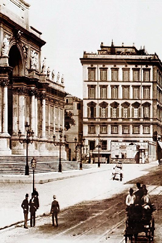 Istituto Ottico Fios - Via del Viminale Roma Antica