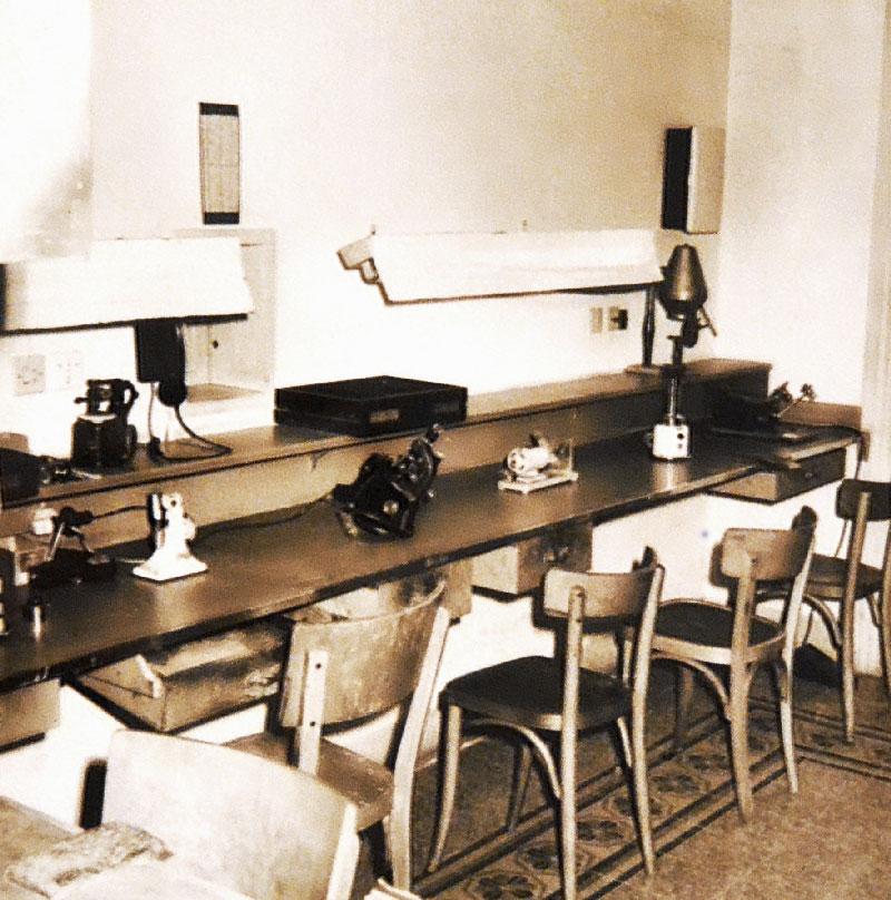Istituto Ottico Fios - Il Vecchio Laboratorio